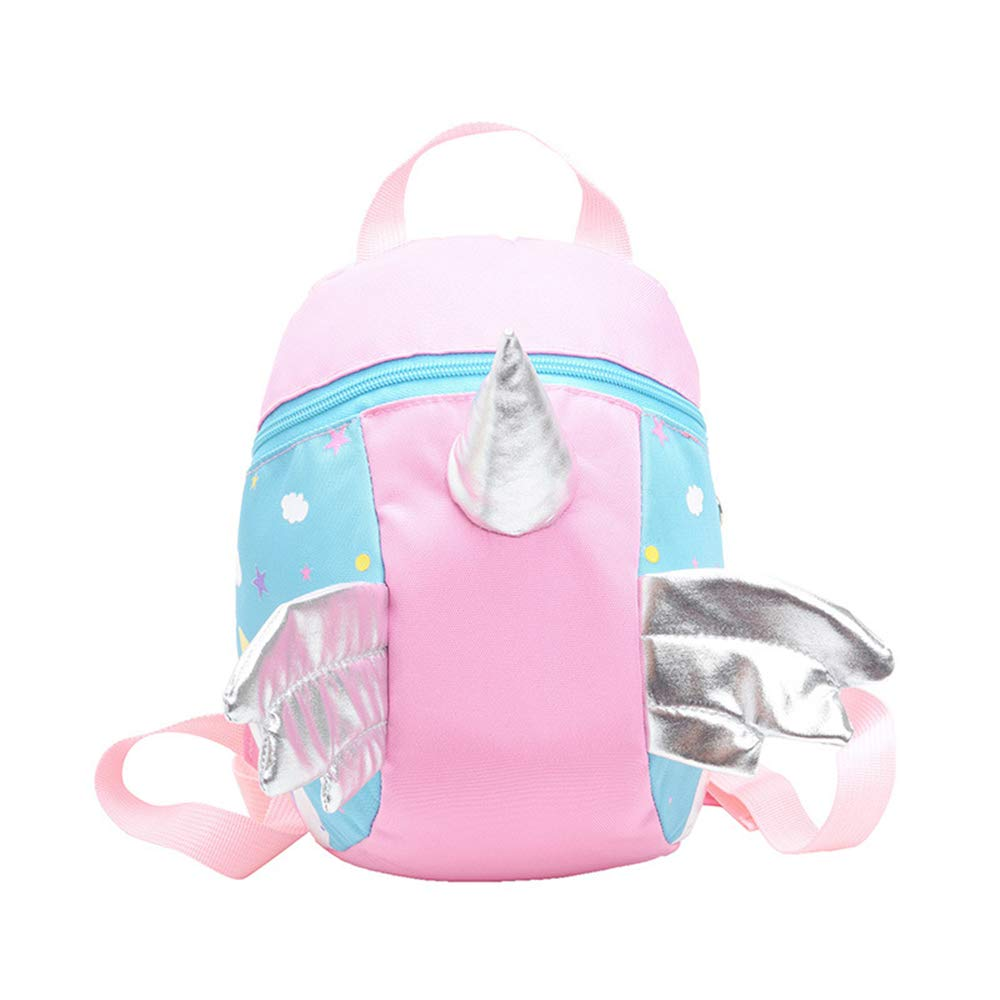 Walking Strap Rucksack with Reins for Girls Age 2 3 4 5 Topways/® Cute Unicorn Girl Toddle Backpack Girls Schoolbag with Walkers Tether Belt