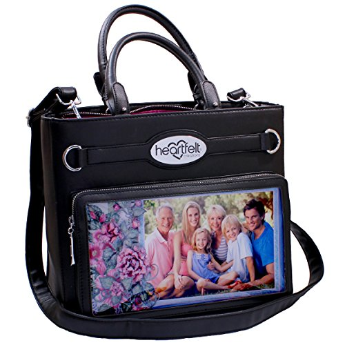 Heartfelt Creations Art From the Heart Handbag-Black by Handbag