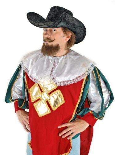 elope Musketeer Hat, Black