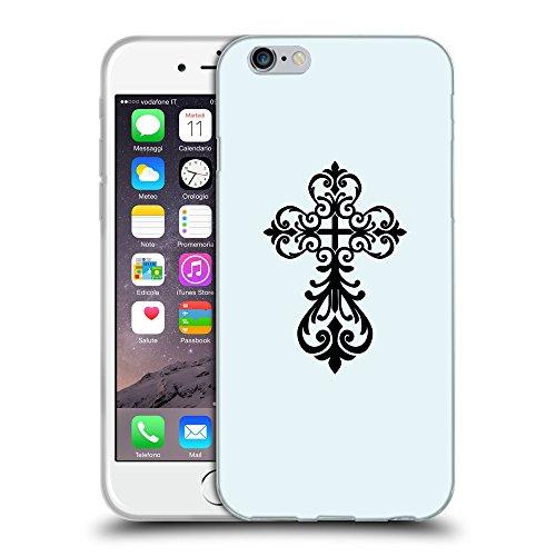 GoGoMobile Coque de Protection TPU Silicone Case pour // Q07810619 Christian Cross 6 Bulles // Apple iPhone 7