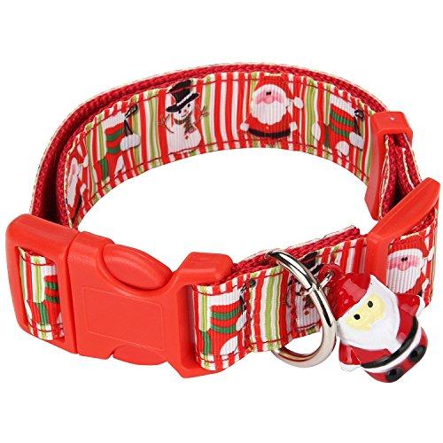 Itery Adjustable Collar Pattern Christmas