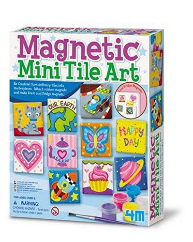 4M 4341 Magnetic Tile Art
