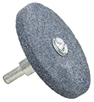 """Forney 72416 Grinding Stone, Cylindrical with 1/4"""" Shank, 2-1/2"""" by 1/4"""""""