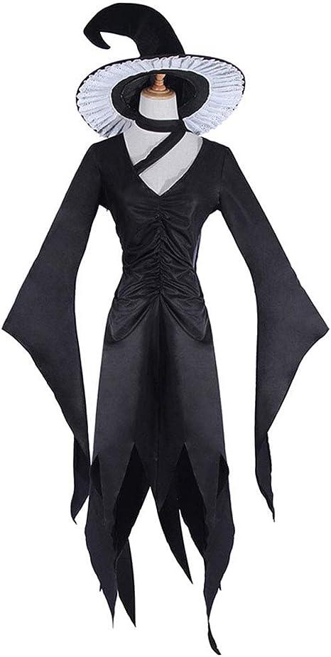 Sijux Disfraz de Bruja de Halloween para Mujer Disfraz de ...