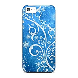 High-definition mobile phone carrying skins Cases Covers For Iphone covers iphone 6 - blue winter