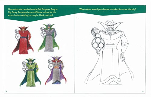 Pixar Character Design Book : Designing with pixar activities to create your own