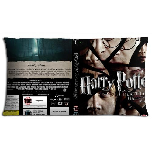 Fabric Zippered Harry Potter and the Deathly Hallows Part 1 Car Pillow Protectors Case Graceful Cotton + Polyester 20x36(inch) 50x90(cm)