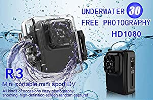 ENVISION Wifi Mini Spy Hidden Camera, R3 Full HD 1080P Portable Small Wireless Nanny Cam?Waterproof? With Night Vision and Motion Detection,Connect to IOS/Apple, Android, PC, Laptop. Indoor or Outdoor