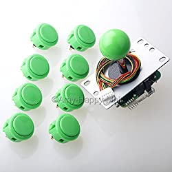 Image of the product Sanwa JLF TP 8YT Joystick that is listed on the catalogue brand of .