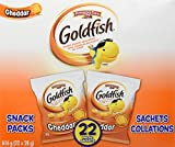 Pepperidge Farm Goldfish Cheddar Crackers, 28g, 22 Count
