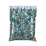 Beistle 88001K Bulk Sparkle Confetti, 45-Pound of Confetti Per Package