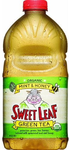 Green Tea Sweet Honey (Sweet Leaf Tea Mint & Honey Green Tea Bottle - 64 oz)