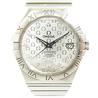 7c99105139 Amazon | OMEGAオメガ コンステレーション コーアクシャル 123.10.35.20.52.002 メンズ 自動巻き 腕時計 裏スケ  シルバー 中古 | OMEGA(オメガ) | 腕時計 通販