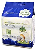 Oupai Natural Care Wormwood Baby Diaper Soft Wipes,Professional Care for Baby Hip,80 Count