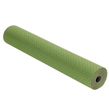 DONGXIN Dos Colores ensanchados Estera de Yoga TPE 6 MM ...