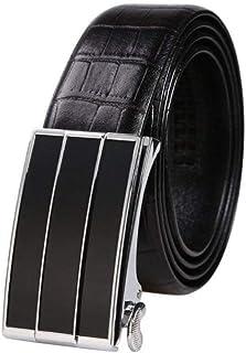 BoBo-88 Cintura Da Uomo Lega Anti Ossidazione Fibbia Liscia Fibbia Pelle Cintura Cintur