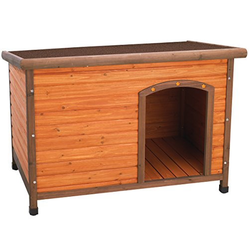 Ware Manufacturing Premium Plus Fir Wood Dog House - Large (Insulated Dog House Extra Large)