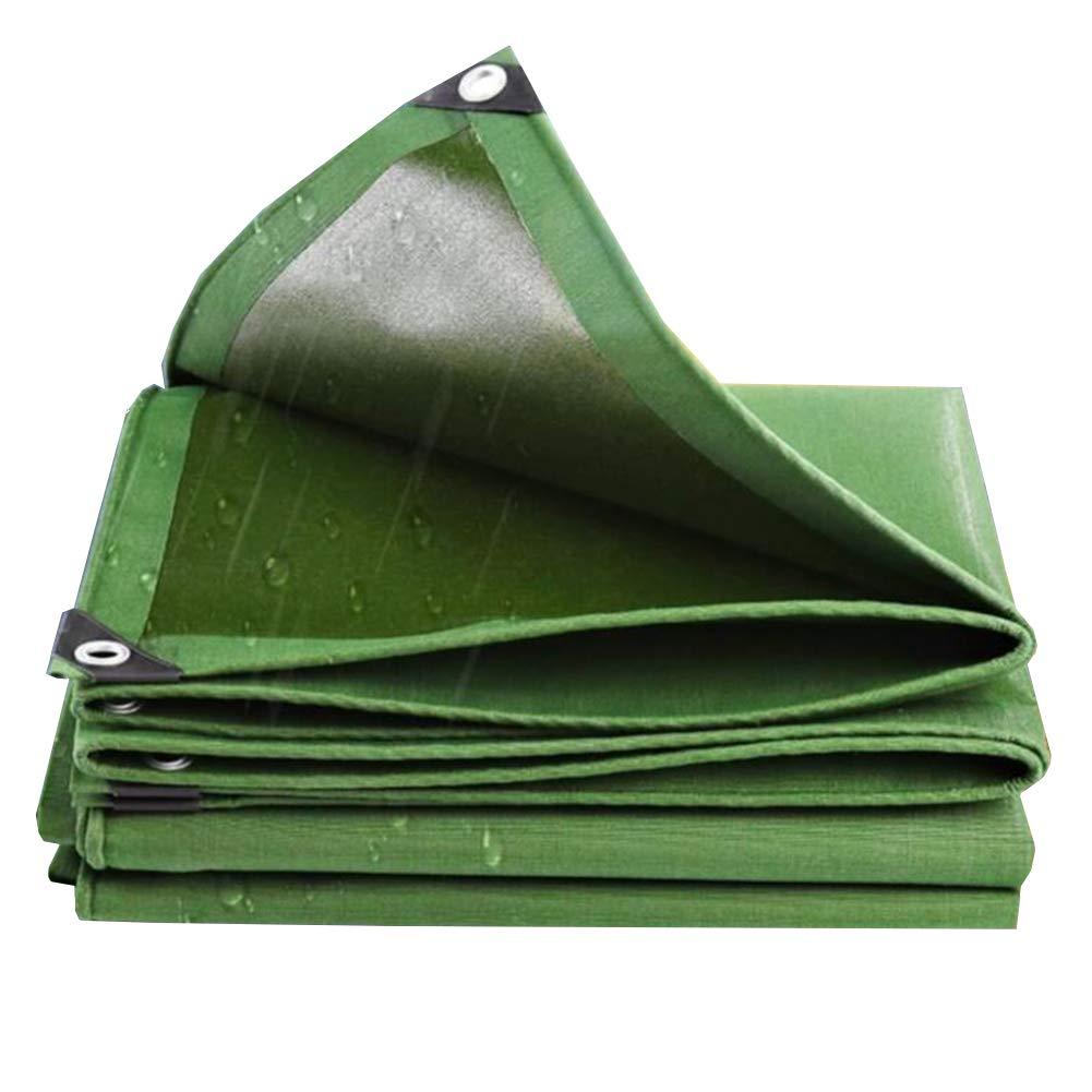 confortevole MuMa MuMa MuMa Telone Addensare Impermeabile Impermeabile Protezione Solare Ombra All'aperto Capannone Stoffa Tela (colore   verde, Dimensioni   2  3m)  Nuova lista