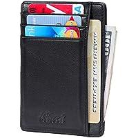 Kinzd RFID Front Pocket Wallet Thin Credit Card Holder