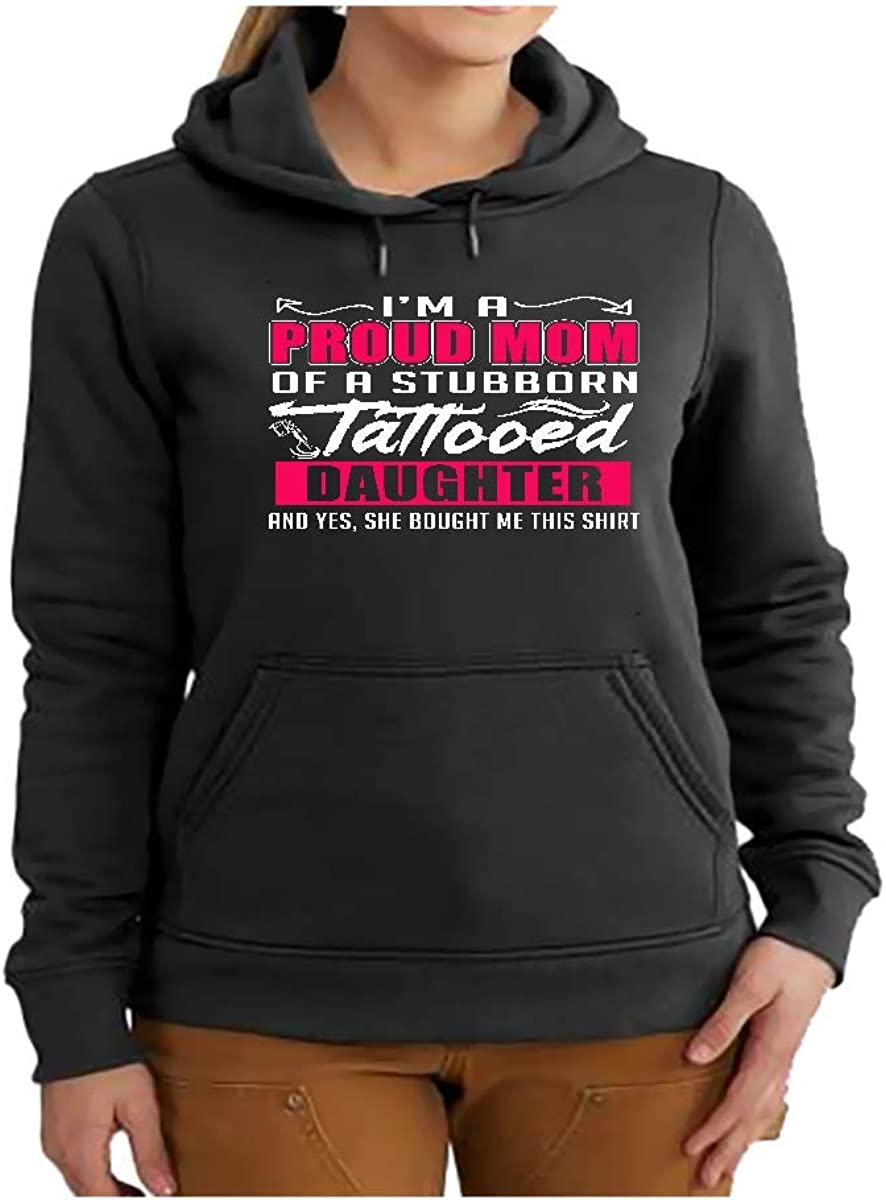Proud Mom of a Freakin Awesome Daughter Gifts for Mothers Day Hoodie