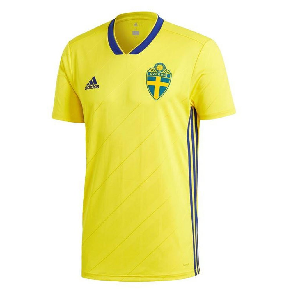 b9b3ff36cbe Amazon.com   2018-19 Sweden Home Football Soccer T-Shirt Jersey (Emil  Forsberg 10)   Sports   Outdoors