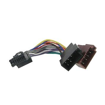 Amazon.com: Pioneer Old 16 Pin to ISO Lead Wiring Loom Power Adaptor ...