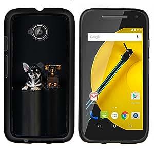 """For Motorola Moto E2 / E 2nd gen , S-type Naturaleza Hermosa Forrest Verde 5"""" - Arte & diseño plástico duro Fundas Cover Cubre Hard Case Cover"""