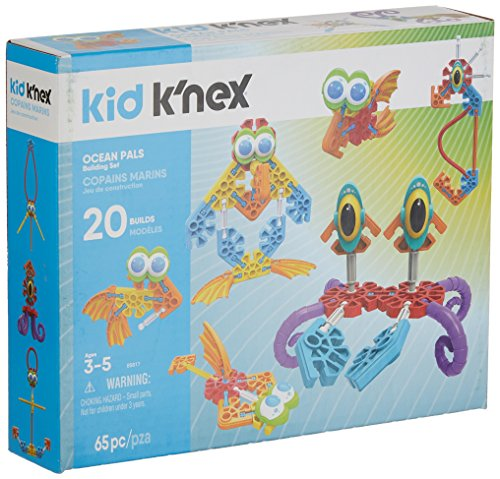New launch Ok'NEX Child Ocean Buddies & up Preschool Academic Constructing Set (Items 65)