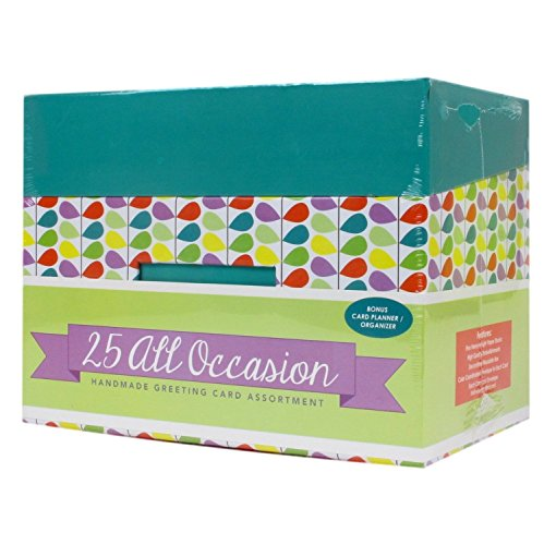 Paper Magic – Custom Bundle – 50 count Occasion Handmade/Embellished Box Cards – For Every Occasion