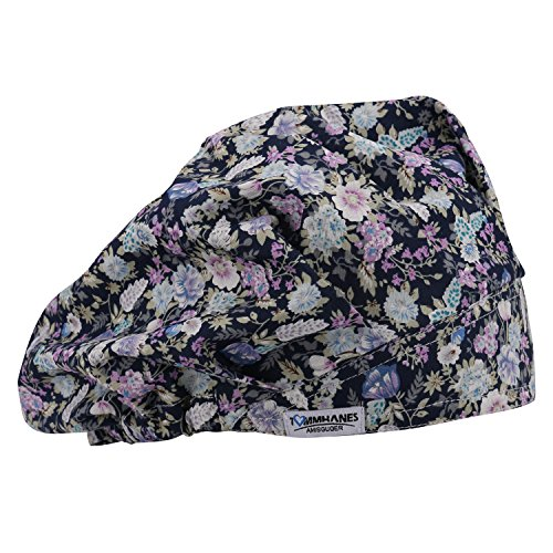 TOMMHANES AMISGUOER Bouffant Hat Work Leisure Cap One Size Multiple Colors(Color07)