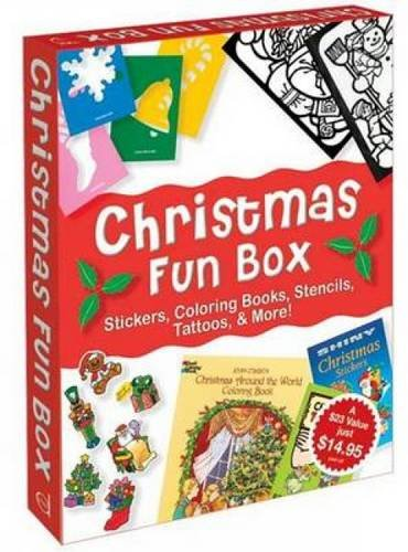 Christmas Fun Box (Dover Fun Kits) (Fun Kits Dover)