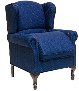 Carex Health Brands Risedale Chair, Midnight Blue