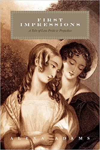 first impressions a tale of less pride prejudice alexa adams  first impressions a tale of less pride prejudice alexa adams 9781432753313 amazon com books