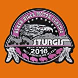 eagle feather fan - 2016 STURGIS RALLY 76th ANNIVERSARY EAGLE FEATHER STURGIS RALLY BIKER PATCH for Accessories - Bags/Purses, Apparel - Coat/Jacket, Apparel - Jeans/Pants, Children, Crafts