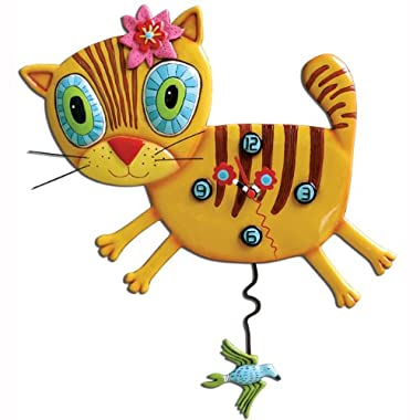 Allen Designs Kimi Kitty Pendulum Clock