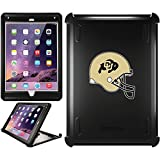 OtterBox iPad Air 2 Black Defender Series Case with University of Colorado Helmet Design by Coveroo
