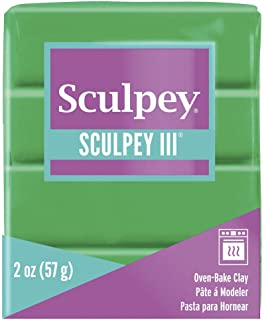 product image for Sculpey III Polymer Clay 2 Ounces-Emerald