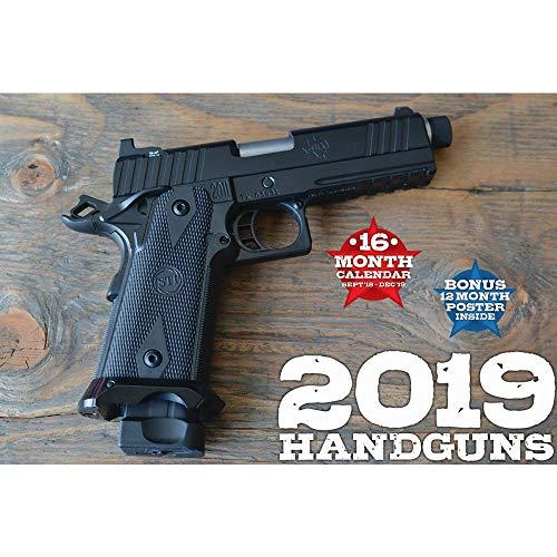 2019 Handguns Deluxe Wall Calendar