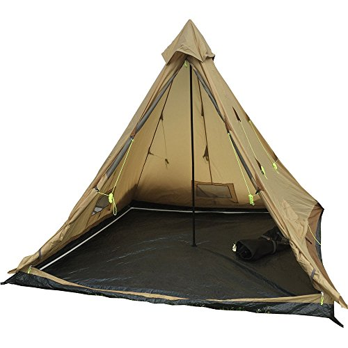High Peak Outdoors Buffalo Hunter 6 Person 4 Season Tent, (High Peak Camping Tents)
