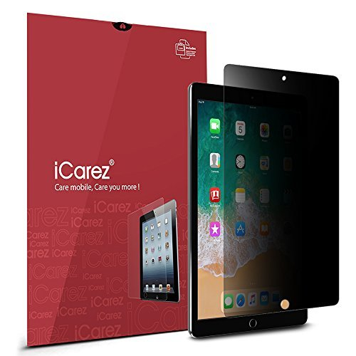 iCarez [4 Way Privacy] Screen Protector for Apple 10.5-inch iPad Pro Premium Easy Install Anti Spy with Lifetime Replacement Warranty