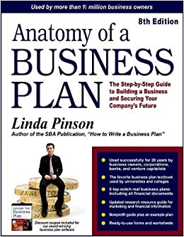 amazon anatomy of a business plan the step by step guide to