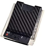 Carbon Fiber Money Clip-Credit card holder CL CARBONLIFE RFID Glossy clips for men 3K