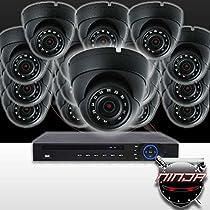 Ninja 4 Megapixel IP Eyeball Dome Camera 16 CH Kit