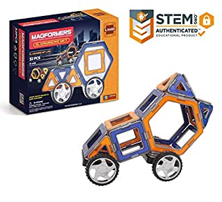 Magformers XL Cruisers Car Set (32 Pieces) (B001KAZPXG) | Amazon price tracker / tracking, Amazon price history charts, Amazon price watches, Amazon price drop alerts