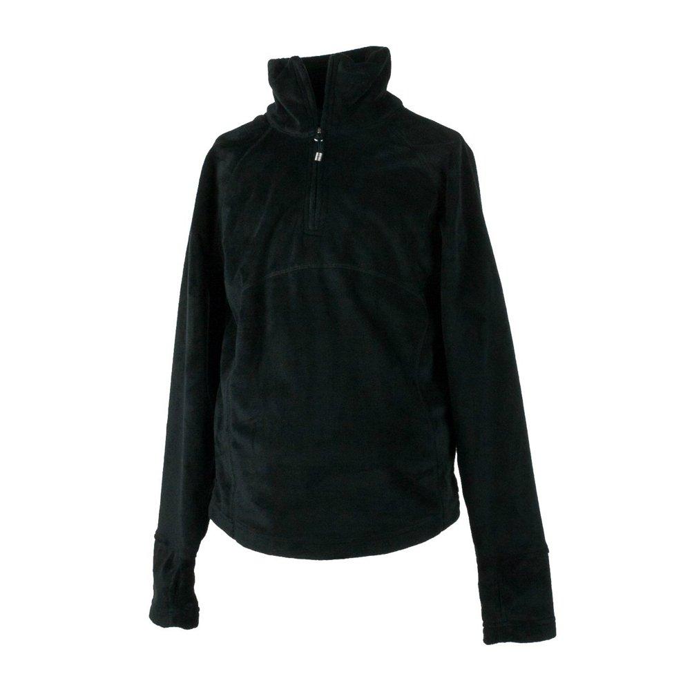 Obermeyer Girls Furry Fleece Top Black Small