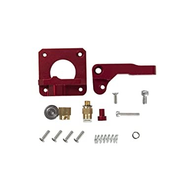 Rojo Metal Mecanismo de Extrusion Kit Mk8 Extrusora Conducir ...