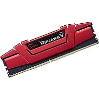 G.Skill (1x8GB) Ripjaws V Gaming Serisi 3000 MHz CL16 (16-18-18-38) Kırmızı Renkli Alüminyum Soğutuculu 1, 35V Bellek…