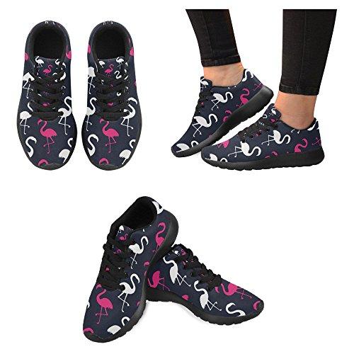 Mocassini Donna Interestprint Classico Casual Canvas Slip On Fashion Scarpe Sneakers Mary Jane Flat Multi 17