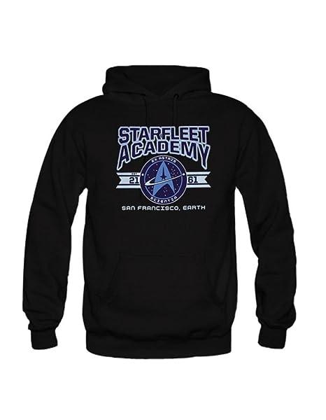 46a6188c48 Custom Unisex STARFLEET ACADEMY Hoodie Print Men's/Women's ...