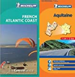 Michelin Green Guide to Atlantic Coast (Bordeaux/Aquitaine) in English plus Map